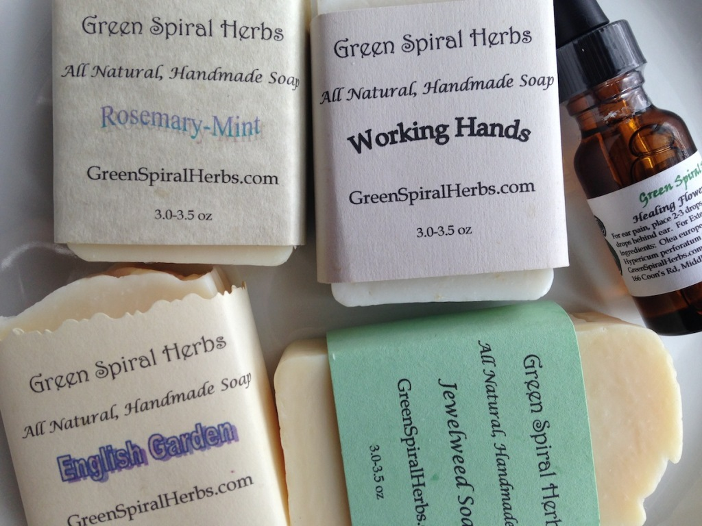Soap by Green Spiral Herbs