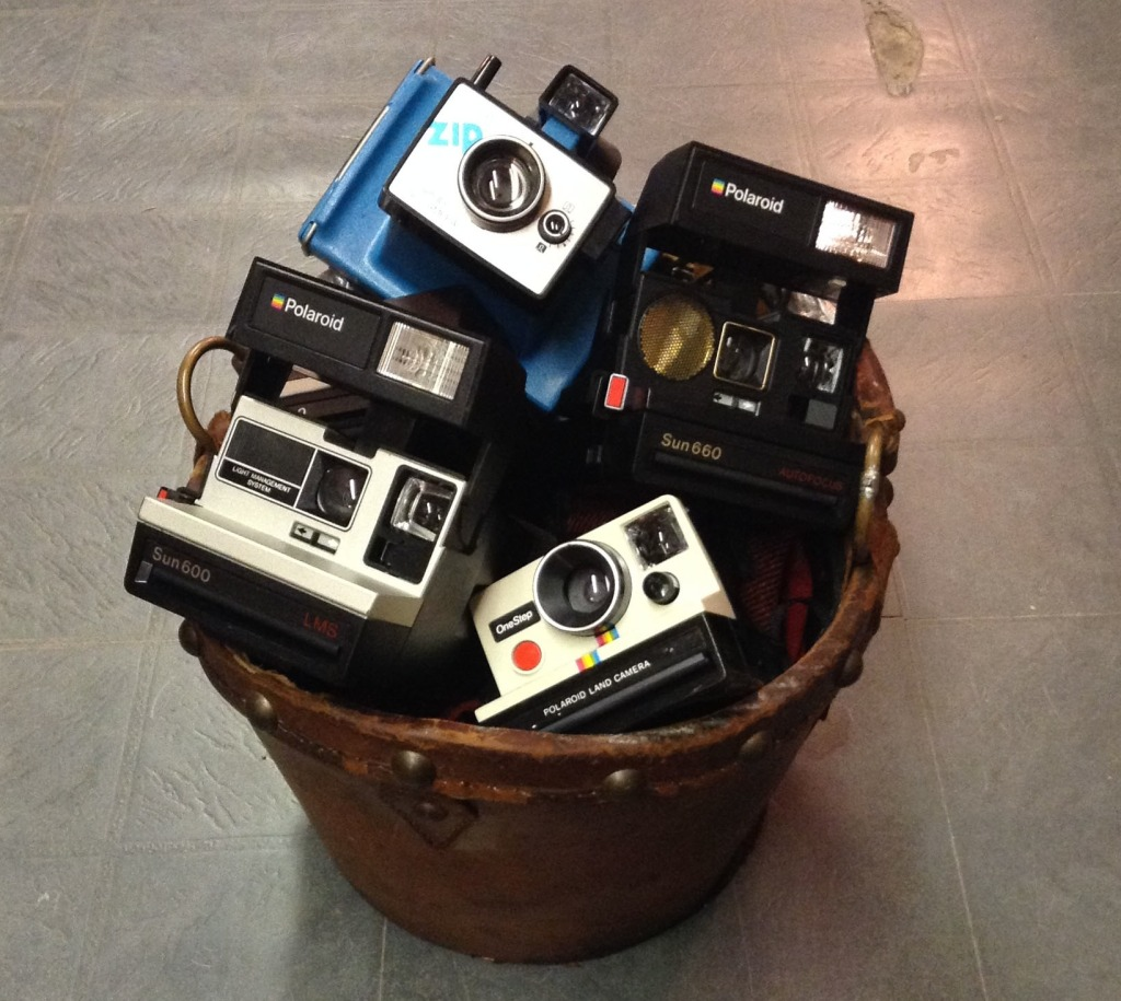 Bucket of Polaroids © Laura Clapp