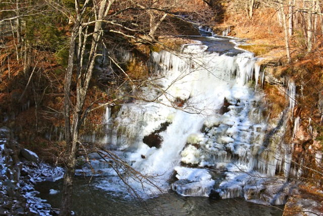 © MGP&D  Seventh and Final Day of the 7 days of waterfalls: Stratton Falls