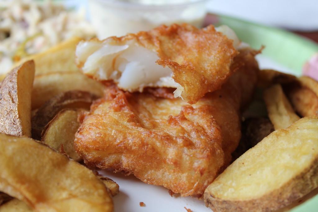 © J.N. Urbanski Arkville Bread & Breakfast Fish and Chips