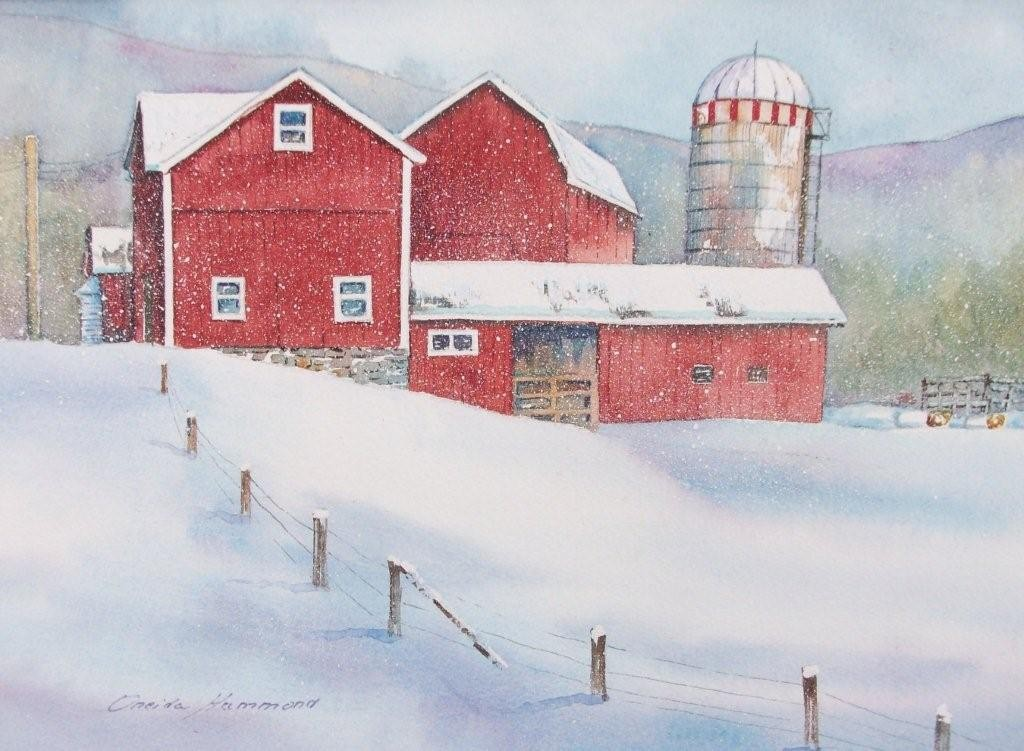 Watercolor by Oneida Hammond