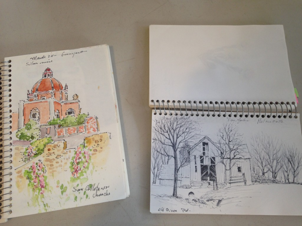 Oneida Hammond's Travel Sketchbook