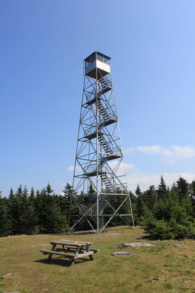 © J.N. Urbanski Fire tower atop Hunter Mt.