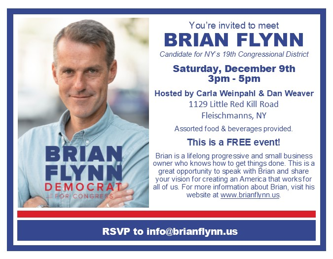 Meet greet democratic candidates for the 19th district upstate in early december two meet greet events with local democratic politicians will take place jeff beals and brian flynn are both running in the next m4hsunfo